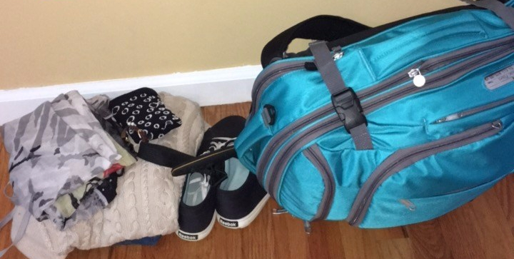 nine weeks, one bag