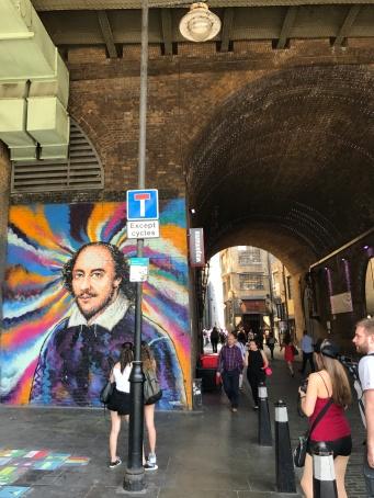 Shakespeare mural