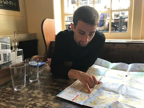 a man & his map