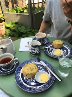 tea & scones!