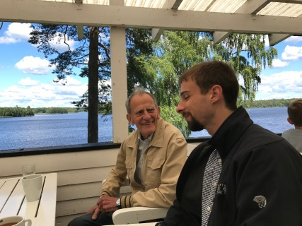 David and Bengt
