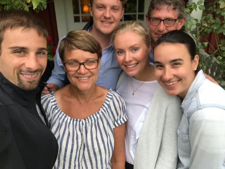 David, Ingrid, Johannes, Linnéa, Stellan, Laura