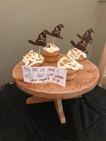 Sorting Hat Cupcakes